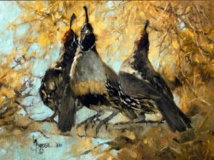 painting by linda budge