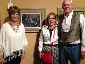 Linda budge with pam and gary imig