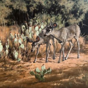 The road less traveled ORGIINAL OIL PAINTING by Linda Budge