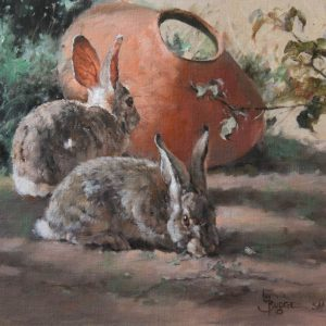 bunny business by Linda Budge