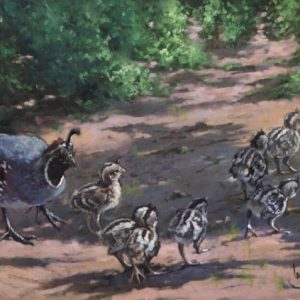 original oil painting by Linda Budge - promise of spring